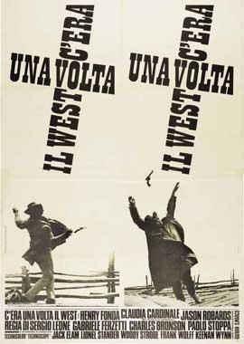 C'era una volta il West - 11 x 17 Movie Poster - Italian Style B