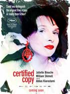 Certified Copy - 11 x 17 Movie Poster - Style A