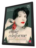 Certified Copy - 27 x 40 Movie Poster - French Style A - in Deluxe Wood Frame