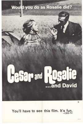 Cesar & Rosalie - 27 x 40 Movie Poster - Style A