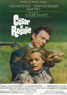 Cesar & Rosalie - 11 x 17 Movie Poster - French Style A