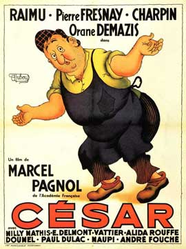 Cesar - 11 x 17 Movie Poster - French Style B