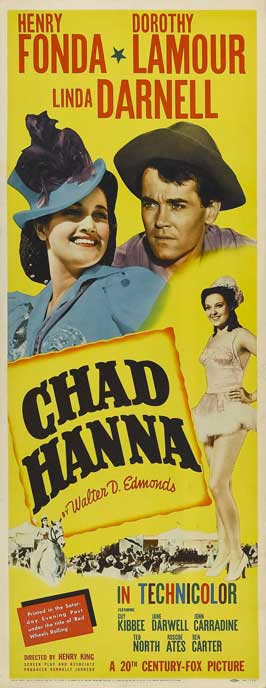 Chad Hanna - 14 x 36 Movie Poster - Insert Style A