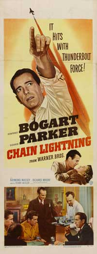 Chain Lightning - 14 x 36 Movie Poster - Insert Style A