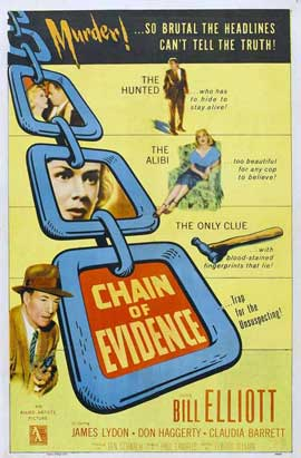 Chain of Evidence - 11 x 17 Movie Poster - Style A