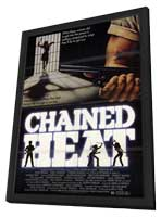 Chained Heat - 11 x 17 Movie Poster - Style A - in Deluxe Wood Frame