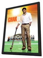 Chak De India - 11 x 17 Movie Poster - German Style A - in Deluxe Wood Frame