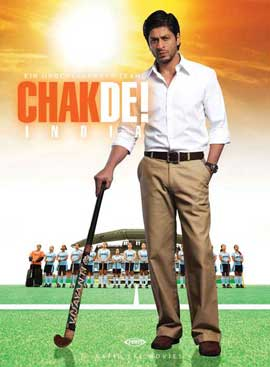 Chak De India - 11 x 17 Movie Poster - German Style A