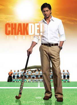 Chak De India - 27 x 40 Movie Poster - German Style A