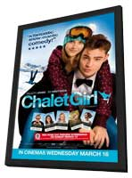 Chalet Girl - 11 x 17 Movie Poster - Style A - in Deluxe Wood Frame