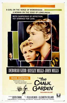 The Chalk Garden - 11 x 17 Movie Poster - Style A