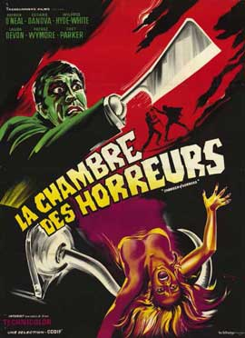 Chamber of Horrors - 11 x 17 Movie Poster - French Style A