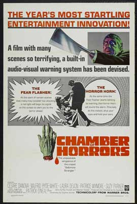 Chamber of Horrors - 11 x 17 Movie Poster - Style B