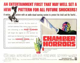 Chamber of Horrors - 22 x 28 Movie Poster - Style A
