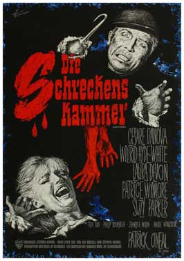 Chamber of Horrors - 11 x 17 Movie Poster - German Style A