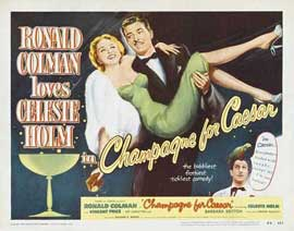 Champagne for Caesar Champagne for Caesar - 11 x 17 Movie Poster - Style A