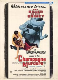 Champagne Murders - 27 x 40 Movie Poster - Style A