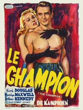 Champion - 11 x 17 Movie Poster - Belgian Style A