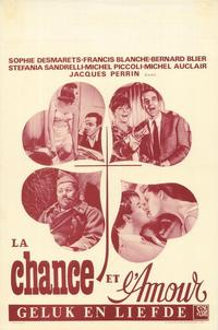 Chance at Love - 11 x 17 Movie Poster - Belgian Style A