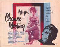 Chance Meeting - 22 x 28 Movie Poster - Half Sheet Style B