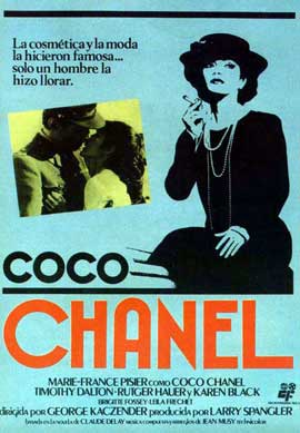 Chanel Solitaire - 11 x 17 Movie Poster - Spanish Style B