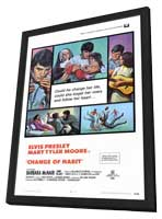 Change of Habit - 11 x 17 Movie Poster - Style A - in Deluxe Wood Frame