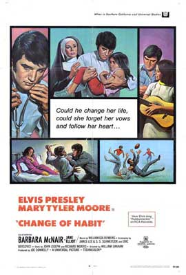 Change of Habit - 27 x 40 Movie Poster - Style A
