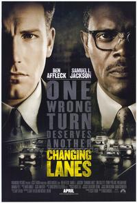 Changing Lanes - 43 x 62 Movie Poster - Bus Shelter Style A