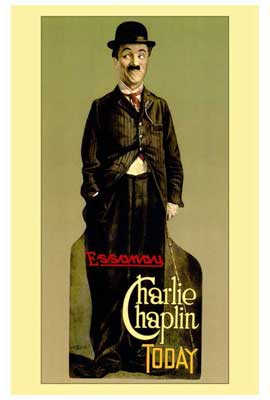 Charlie Chaplin - 27 x 40 Movie Poster - Style A