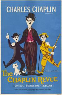 The Chaplin Revue - 43 x 62 Movie Poster - Bus Shelter Style A