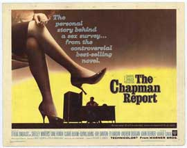 Chapman Report - 22 x 28 Movie Poster - Half Sheet Style A