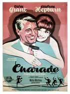 Charade - 11 x 17 Movie Poster - Danish Style A