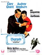 Charade - 11 x 17 Movie Poster - French Style A