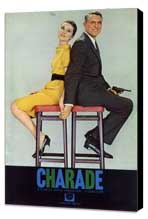 Charade - 11 x 17 Movie Poster - Style J - Museum Wrapped Canvas