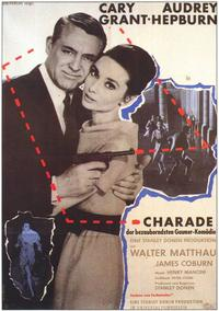 Charade - 11 x 17 Movie Poster - German Style A