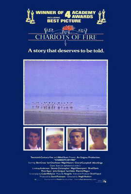 Chariots of Fire - 27 x 40 Movie Poster - Style B