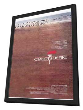 Chariots of Fire - 11 x 17 Movie Poster - Style A - in Deluxe Wood Frame
