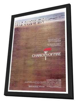 Chariots of Fire - 27 x 40 Movie Poster - Style A - in Deluxe Wood Frame