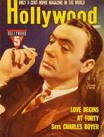 Charles Boyer - 11 x 17 Hollywood Magazine Cover 1930's Style A