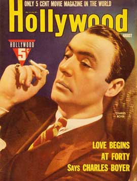 Charles Boyer - 27 x 40 Movie Poster - Hollywood Magazine Cover 1930's Style A
