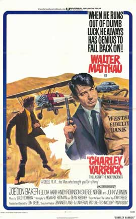 Charley Varrick - 11 x 17 Movie Poster - Style A