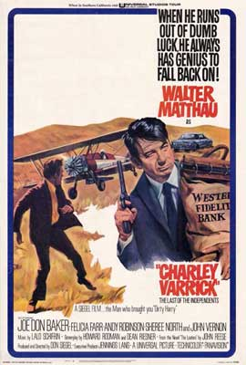 Charley Varrick - 27 x 40 Movie Poster - Style A