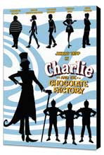 Charlie and the Chocolate Factory - 11 x 17 Movie Poster - Style N - Museum Wrapped Canvas