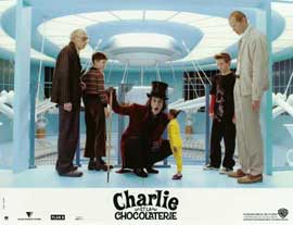 Charlie and the Chocolate Factory - 11 x 14 Poster French Style A