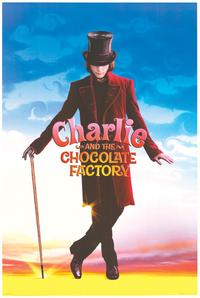 Charlie and the Chocolate Factory - Movie Poster - 24 x 36 - Style A