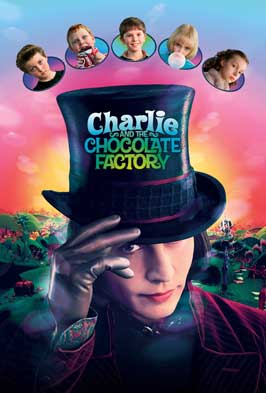 Charlie and the Chocolate Factory - 43 x 62 Movie Poster - Bus Shelter Style E