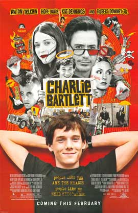 Charlie Bartlett - 27 x 40 Movie Poster - Style D