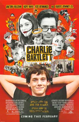 Charlie Bartlett - 43 x 62 Movie Poster - Bus Shelter Style D