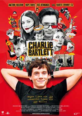 Charlie Bartlett - 27 x 40 Movie Poster - German Style D