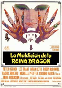 Charlie Chan and the Curse of the Dragon Queen - 11 x 17 Movie Poster - Spanish Style A